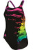 adidas Infinitex Streamline Graphic Suit Women black/shock purple f16